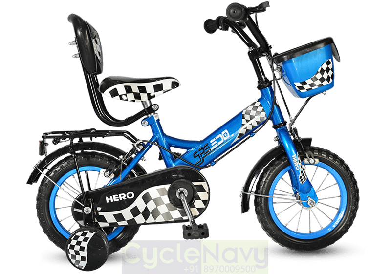 Hero Speedo 12t Blue Kids Bicycle Cyclenavy