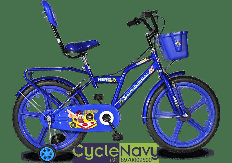 Hero Sundancer 16t Blue Kids Bicycle Cyclenavy